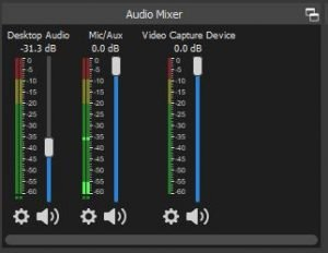 OBS Tutorial: Audio Mixer